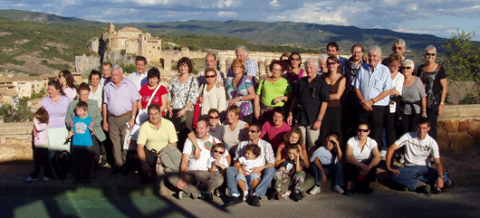 Rencontre culturelle à Alquezar _ 2009 (photo Emilio) - JPEG - 407.2 ko